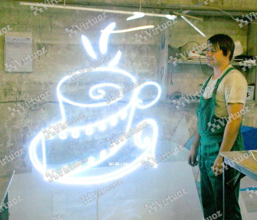Изготовление светодиодных вывесок санкт-петербург